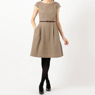 トッカ(TOCCA)のTOCCA 25th CHECKER BOARD ドレス(ひざ丈ワンピース)