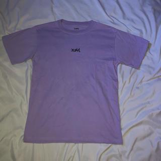エックスガール(X-girl)のx-girl basic Tシャツ パープル(Tシャツ(半袖/袖なし))