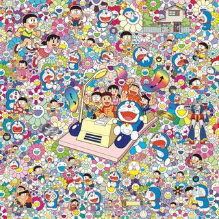 【藤子・F・不二雄先生とタイムマシンで何処までも!(ポスター作品)】(ポスター)