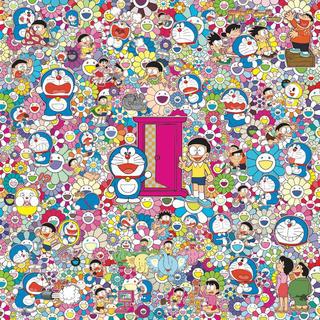 村上隆 × 藤子・F・不二雄 【どこでもドア いろいろあるよ(ポスター作品)】(ポスター)