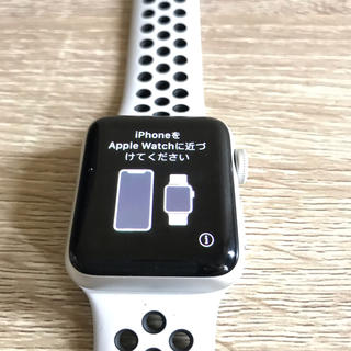 アップルウォッチ(Apple Watch)のApple Watch series3 セルラー 38mm(腕時計(デジタル))