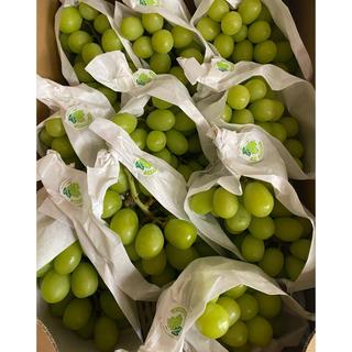 長野県産 シャインマスカット約4.5kg9〜11房(フルーツ)