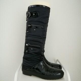 トッズ(TOD'S)のトッズ ロングブーツ 37 ブラック(ブーツ)