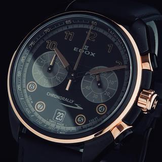 EDOX - ◆定価70,000円◆ EDOX エドックス 新品 メンズ 腕時計 クロノグラフ