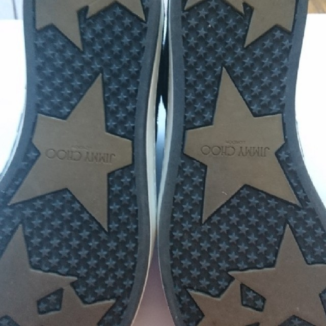 JIMMY CHOO(ジミーチュウ)のジミーチュウ 美品可愛い水玉ベロアスニーカー37 レディースの靴/シューズ(スニーカー)の商品写真
