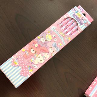 サンリオ(サンリオ)の【新品】ぼんぼんりぼん かきかたえんぴつ 2B/12本入り(1ダース)(鉛筆)