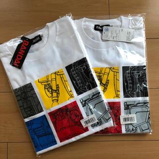 バンダイ(BANDAI)のガンダム Tシャツ M2枚(Tシャツ/カットソー(半袖/袖なし))
