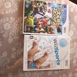 Wii - 大乱闘スマッシュブラザーズ x wii sports