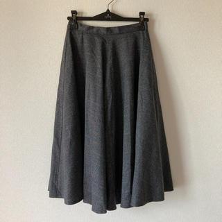 ハレ(HARE)のミディアム丈チェックスカート(ひざ丈スカート)
