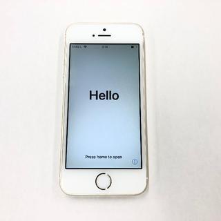 アップル(Apple)のau iPhone5s 16GB ゴールド(スマートフォン本体)