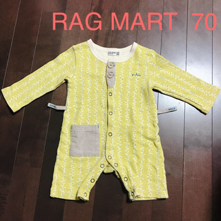 RAG MART - ラグマート ロンパース 70