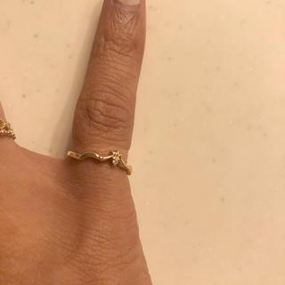 アガット(agete)のagete  アガット  k10  ダイヤ ピンキーリング   (リング(指輪))