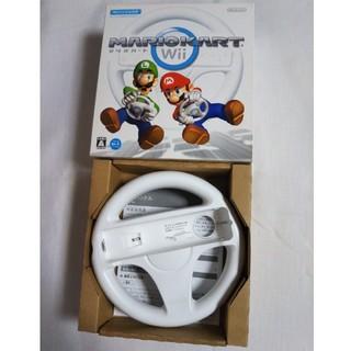 ウィー(Wii)のマリオカートwii ハンドル(その他)