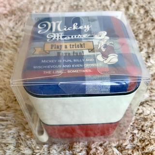 ミッキーマウス(ミッキーマウス)の新品 ディズニー ミッキーマウス ランチボックス お弁当箱 2段(弁当用品)
