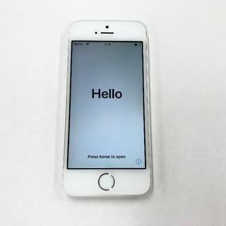 アップル(Apple)のiPhone5s 16GB シルバー(スマートフォン本体)