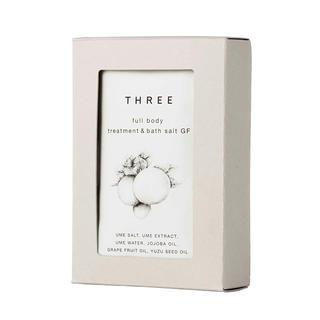 THREE - 【未使用】THREE フルボディトリートメント&バスソルト