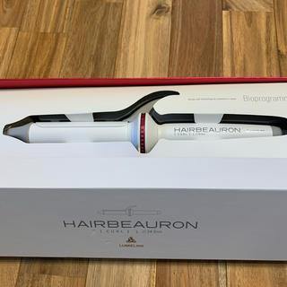 リュミエールブラン(Lumiere Blanc)の本日限定値下げヘアビューロンHAIRBEAURON コテ アイロン 34mm L(ヘアアイロン)