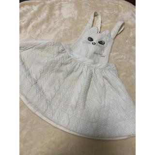 アナスイミニ(ANNA SUI mini)のアナスイミニ    ネコ ジャンパースカート 90サイズ(スカート)