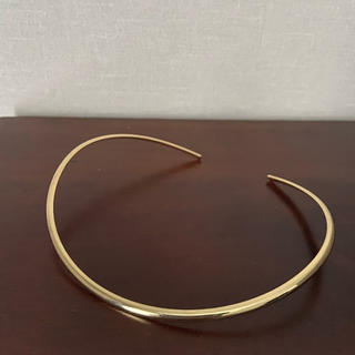 アネモネ(Ane Mone)のANEMONE ゴールド チョーカー(ネックレス)