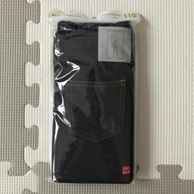 UNIQLO(ユニクロ)のUNIQLO  10分丈レギンス  キッズ/ベビー/マタニティのキッズ服女の子用(90cm~)(パンツ/スパッツ)の商品写真