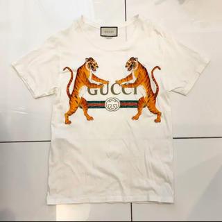 Gucci - 【新品未使用品】GUCCI グッチ タイガー × ロゴ 虎 Tシャツ