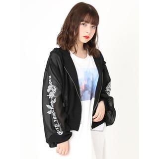 Ank Rouge - エーエヌケー シースルー パーカー