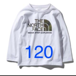 THE NORTH FACE - ノースフェイス ロンT 120 新品