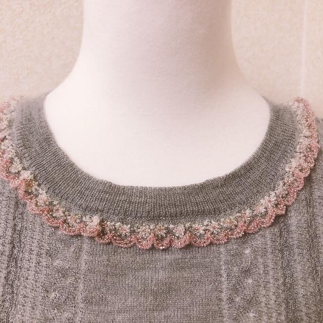 miumiu(ミュウミュウ)のmiumiu♡ニット レディースのトップス(ニット/セーター)の商品写真