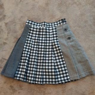レピピアルマリオ(repipi armario)のレピピアルマリオ S チェックスカート(スカート)