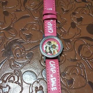 チップアンドデール(チップ&デール)の☆Disney☆チップ&デール腕時計(キャラクターグッズ)