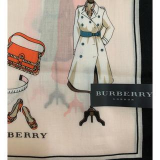 BURBERRY - バーバリー 大判ハンカチーフ稀少コート