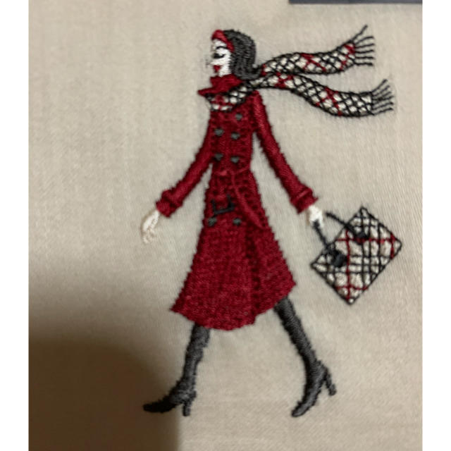 BURBERRY(バーバリー)のバーバリー 大判ハンカチーフ女の子刺繍 レディースのファッション小物(ハンカチ)の商品写真