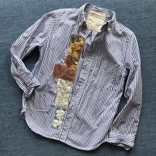 ゴートゥーハリウッド(GO TO HOLLYWOOD)のゴートゥーハリウッド ▲▽▲ ストライプシャツ 120(ブラウス)