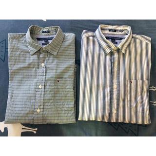 トミーヒルフィガー(TOMMY HILFIGER)のトミーヒルフィガー 長袖シャツ Mサイズ 2点セット(Tシャツ/カットソー(七分/長袖))