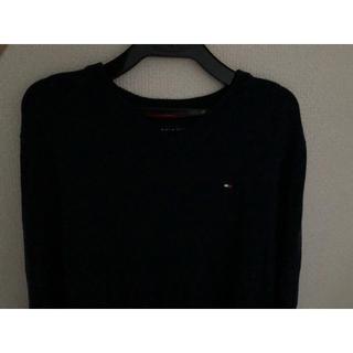 トミーヒルフィガー(TOMMY HILFIGER)のトミー 紺色セーター(ニット/セーター)