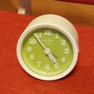 イデアインターナショナル(I.D.E.A international)のモモ様専用・イデアインターナショナル 電波アラーム時計(置時計)