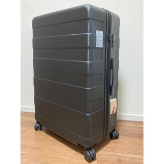 ムジルシリョウヒン(MUJI (無印良品))の無印良品 キャリーバーの高さを自由に調節できるハードキャリーケース(105L)(スーツケース/キャリーバッグ)