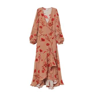 エイチアンドエイチ(H&H)の矢野未希子着用 H&M ラップドレス(ロングワンピース/マキシワンピース)