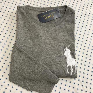 ラルフローレン(Ralph Lauren)のラルフローレン メンズビッグポニー長袖Tシャツ グレーXS(Tシャツ/カットソー(七分/長袖))