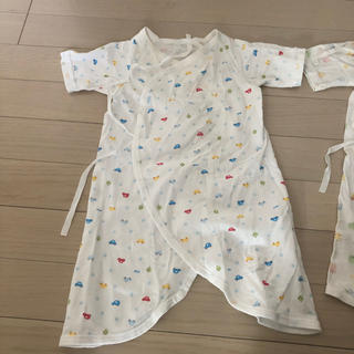 ミキハウス(mikihouse)の2着セット ミキハウス 肌着 新生児(肌着/下着)