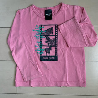 コムサイズム(COMME CA ISM)のCOMNE CA ISM 長袖Tシャツ 100㎝(Tシャツ/カットソー)