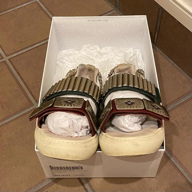 TOGA(トーガ)のTOGAPULLA×RayBEAMS Metal Sneaker Sandal レディースの靴/シューズ(サンダル)の商品写真