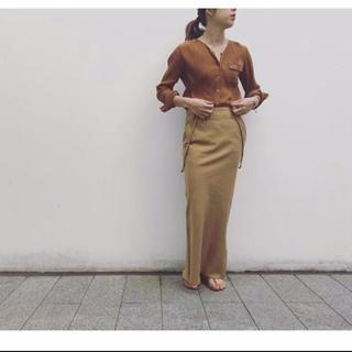 ファビアンルー(Fabiane Roux)の新品未使用タグ付 NOWOS サスペンダースカート Sサイズ(ロングスカート)