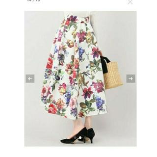 リミットレスラグジュアリー(LIMITLESS LUXURY)のLimitless Luxury 花柄スカート 🌼(ロングスカート)