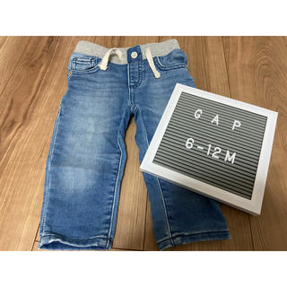 ベビーギャップ(babyGAP)のGAP デニム パンツ ズボン 70(パンツ)