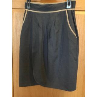 ジャスグリッティー(JUSGLITTY)のJUSGLITTY  ラップスカート サイズ2(ひざ丈スカート)