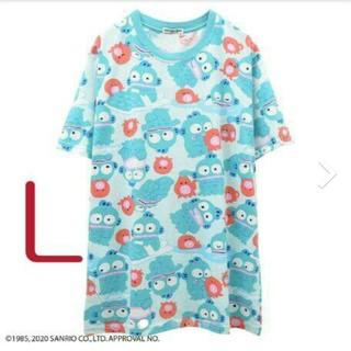 サンリオ(サンリオ)の2020新作ハンギョドン 総柄 TシャツL(Tシャツ(半袖/袖なし))
