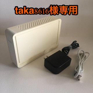 アイオーデータ(IODATA)の外付ハードディスク 2.0TB HDC-EU2.0N USB 2.0接続(PC周辺機器)