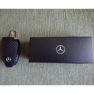 Mercedes-Benz メルセデスベンツ純正 キーカバーカーボン調 黒色