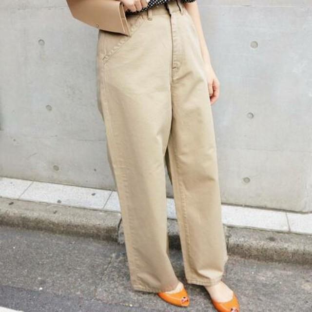 IENA(イエナ)のイエナ購入、チノトラウザーズパンツ、40サイズ レディースのパンツ(カジュアルパンツ)の商品写真